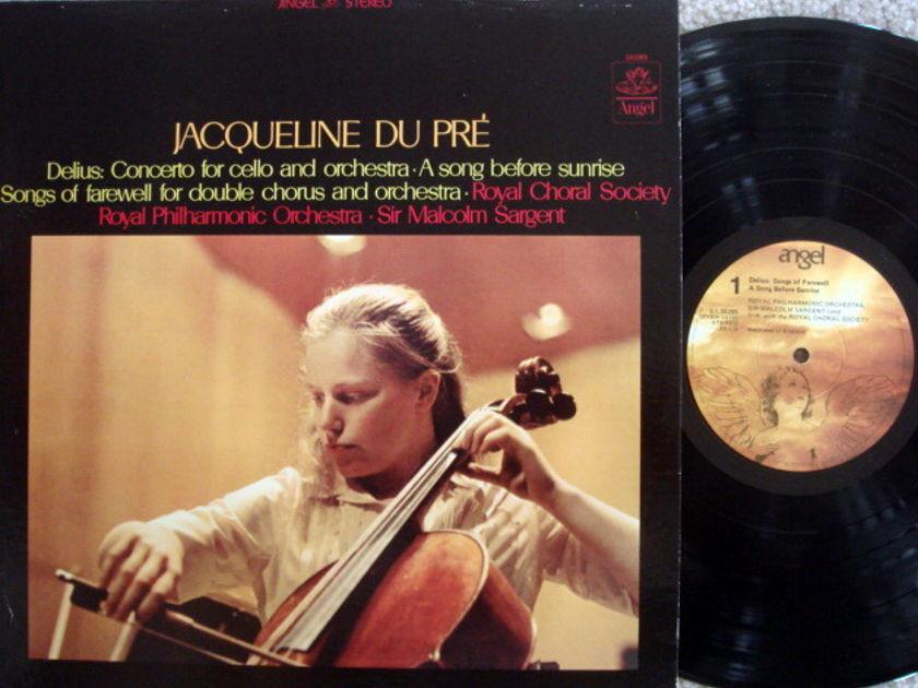 EMI Angel / DU PRE-SARGENT, - Delius Cello Concerto, MINT!