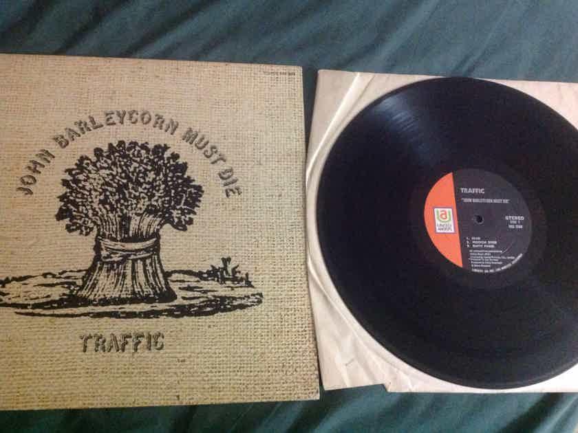 Traffic  - John Barleycorn Must Die First Pressing United Artists UAS 5504 Deadwax Sterling LH