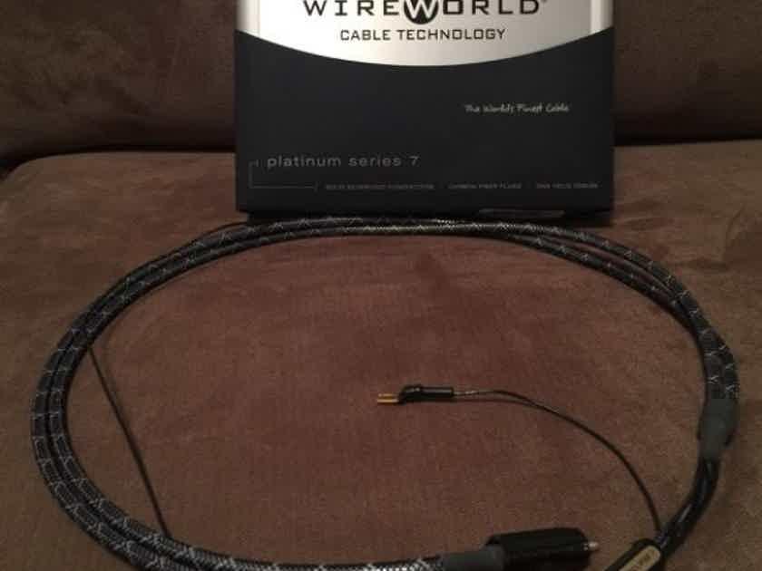 Wireworld Platinum Eclipse 7 Tonearm Cable 1M