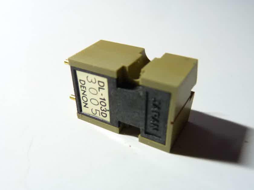 Denon  DL-103d phono cartridge boron cantilever new