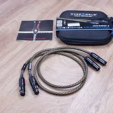 Wireworld Gold Eclipse 8 highend audio interconnects XL...