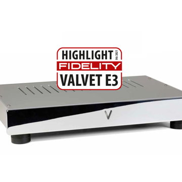 Valvet E3 single-ended Class-A - FIRST REVIEW OF THE NE...