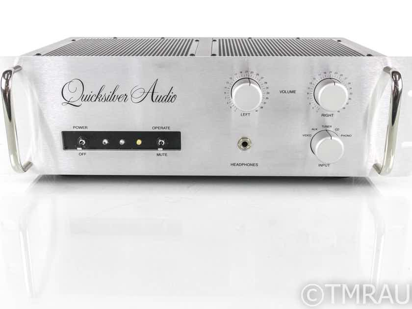 Quicksilver Audio Full Preamp Stereo Tube Preamplifier; MM Phono (19802)