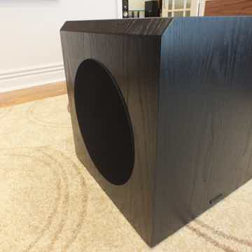 Bryston Model T-12 Powered Subwoofer (Black Ash): New-I...