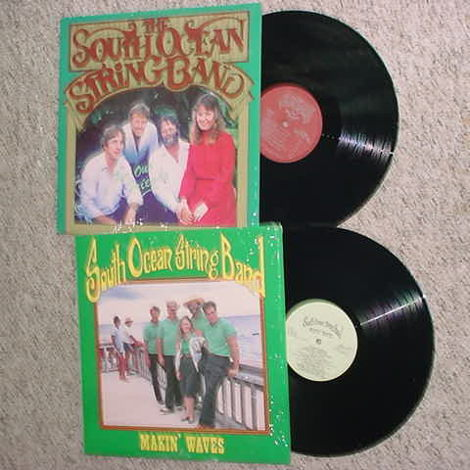 the South Ocean String Band 2 lp records in shrink