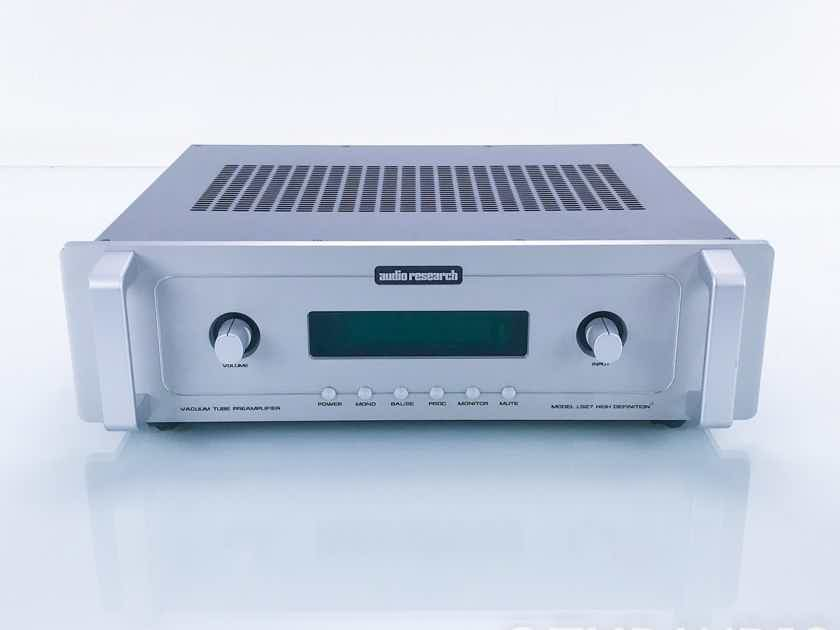 Audio Research LS27 Stereo Tube Preamplifier; LS-27; Remote (17150)