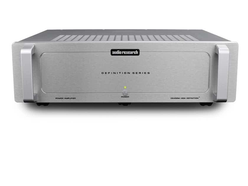 Audio Research  DS450 M Silver MonoBlock Pair Solid State Amplifiers