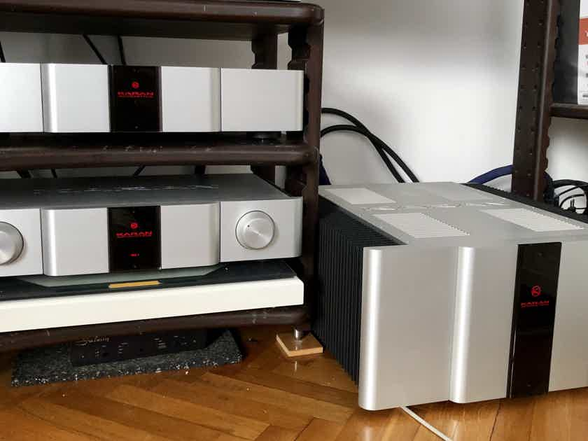 Karan Acoustics KA S 600 stereo amplifier EU model 220/230V