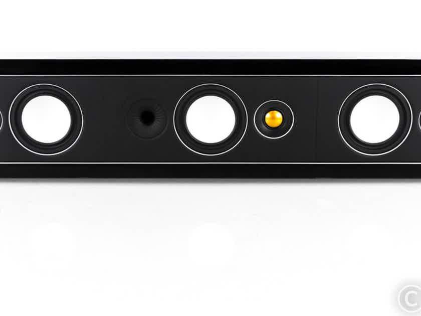 Monitor Audio Radius One 3 Channel Passive Soundbar; Gloss Black (20621)