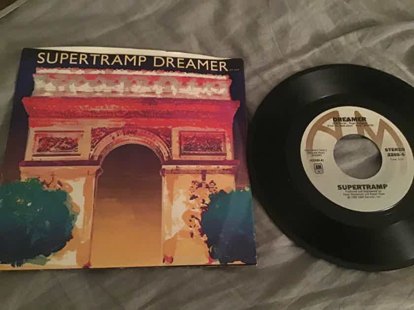 Supertramp Dreamer/From Now On 45 With Picture Sleeve