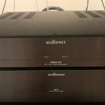 Audionet PAM G2 Phono Stage with EPX Power Supply