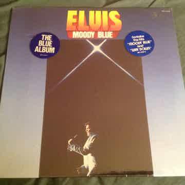 Elvis Presley  Moody Blue Sealed LP Blue Vinyl With Hyp...