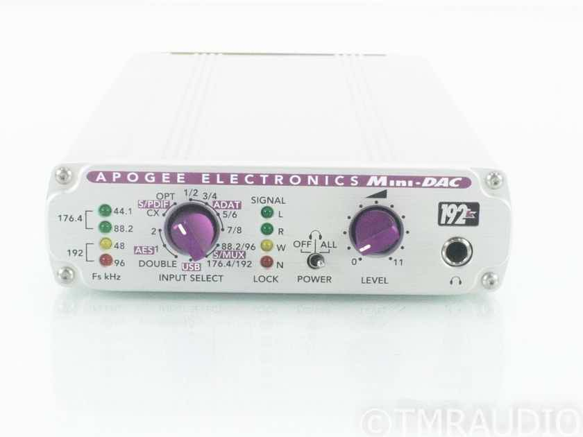 Apogee Electronics Mini-DAC; D/A Converter; Firewire; 192k (18801)