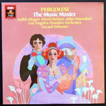 EMI  LP  PERGOLESI  ** SEALED **   - THE MUSIC MASTER  ...