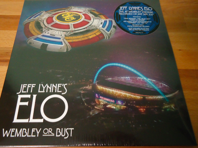 Jeff Lynne and ELO - Wembley or Bust New / Sealed - Three 180g LPS with Digital Download