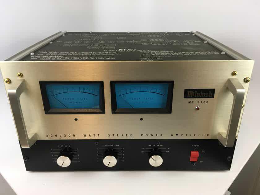 McIntosh MC-2300 - Near Mint - A Piece of Audio History