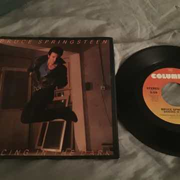 Bruce Springsteen  Dancing In The Dark 45 With Picture ...