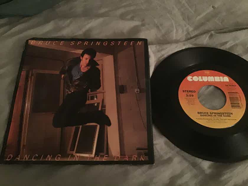 Bruce Springsteen  Dancing In The Dark 45 With Picture Sleeve