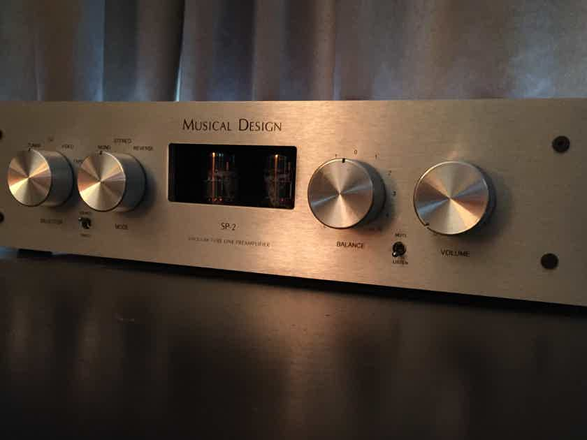 Musical Design SP-2B Platinum preamp preamplifier