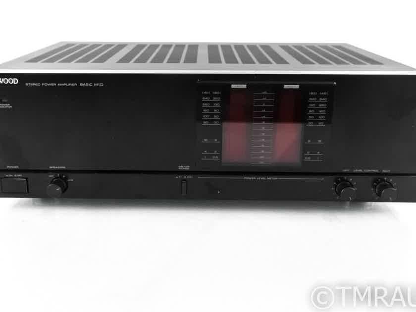 Kenwood Basic M1D Vintage Stereo Power Amplifier; M1-D (21948)