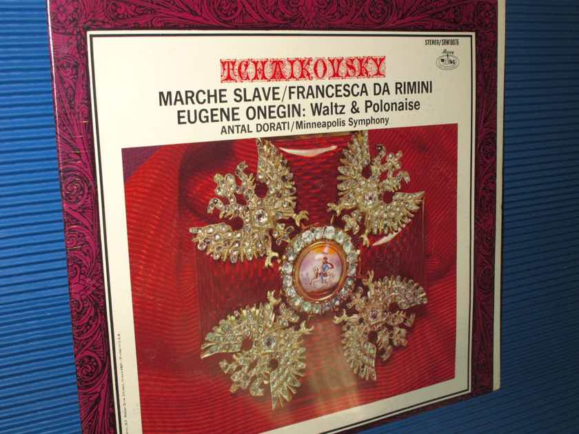 "TCHAIKOVSKY / Dorati  - ""Marche Slav"" - Mercury Wing 1967 SEALED!"