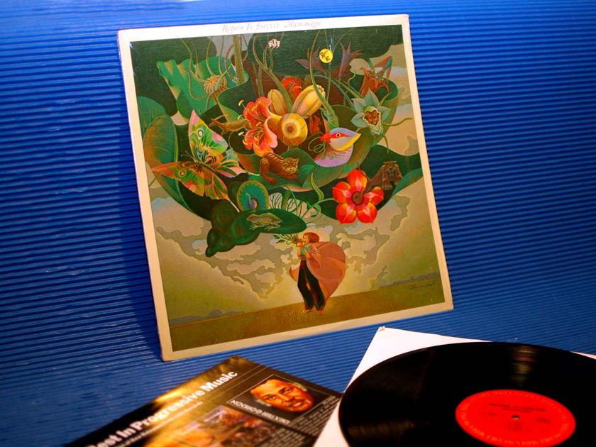 "RETURN TO FOREVER   - ""Music Magic"" -  CBS 1977"