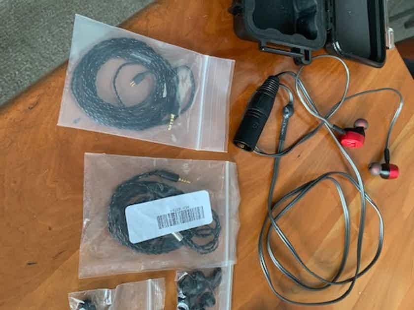 Massdrop  X Noble Audio Kaiser 10 Universal IEM with Silver Dragon XLR cable