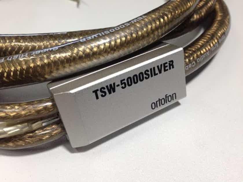 Ortofon Tsw 5000 Super Purity Silver 99 9999 Very Rare