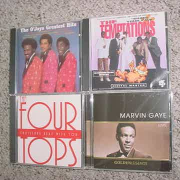 Four tops Temptations Marvin Gaye