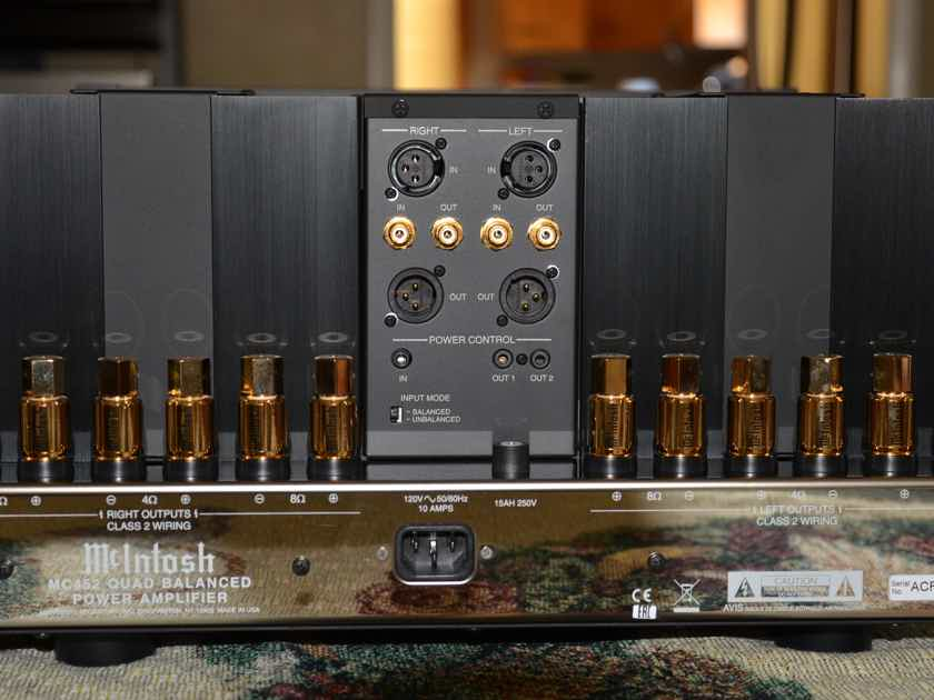 McIntosh MC-452 Amazing 450 watt/ch amp