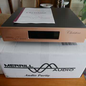 Merrill Audio  Christine Reference Pre-amp