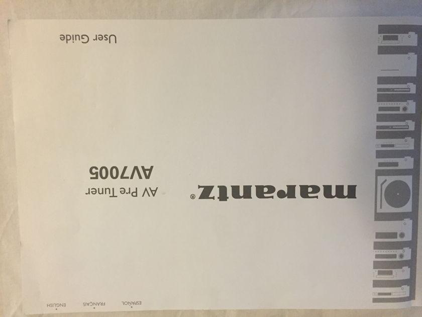 Marantz AV7005 A/V Preamp Processor - new low price!