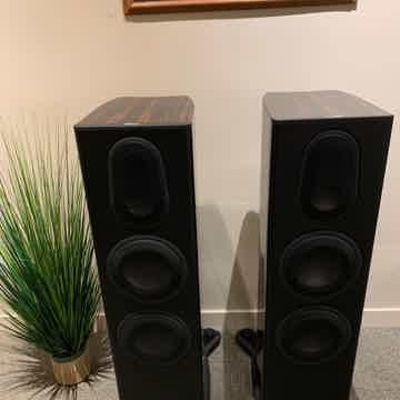 Platinum PL300II Ebony Loudspeakers