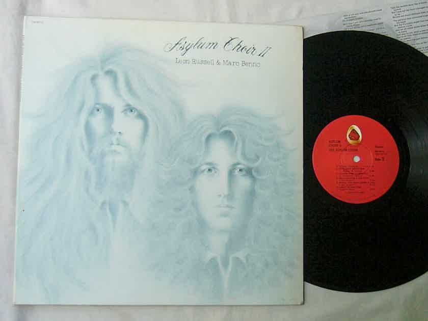 ASYLUM CHOIR - II - - LEON RUSSELL & MARC BENNO - RARE ORIG 1971 LP - SHELTER