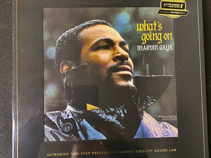 """Marvin Gaye """"What's Going On"""" 180g 45RPM 2LP Box Set"""
