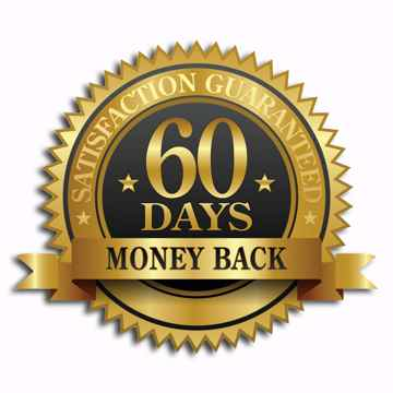 60-days Money Back Guarantee