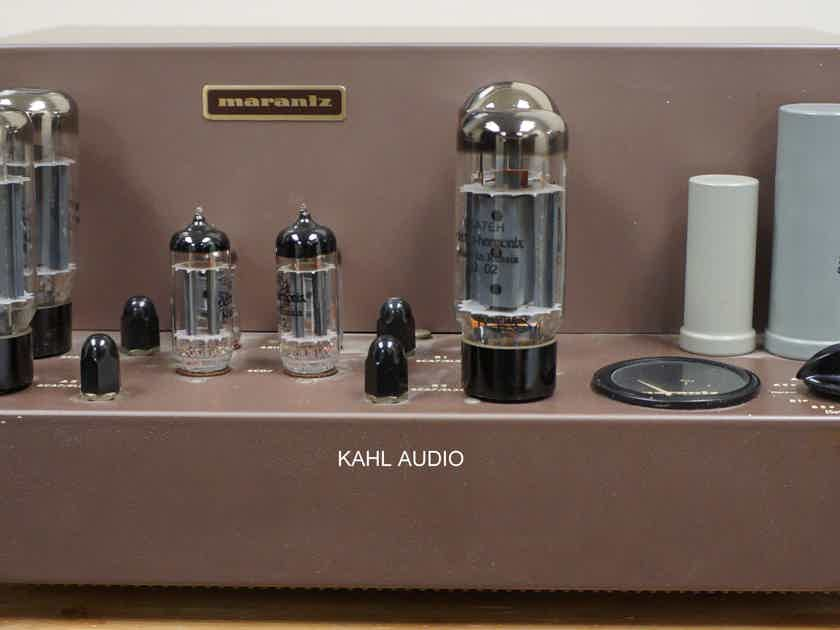 Marantz Model 8 tube power amp. Re-capped. Collectible hifi! $325 MSRP