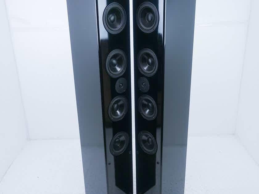 Amrita Audio Jovan Floorstanding Speakers; Gloss Black Pair (15235)