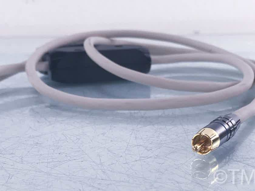 Transparent Audio MusicLink RCA Cables 1m Pair; Interconnects (3971)