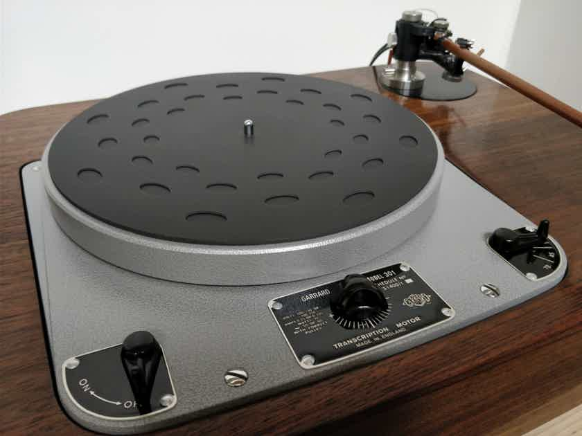 Garrard 301 - Complete system: Audio Grail, Woodsong Audio, Reed