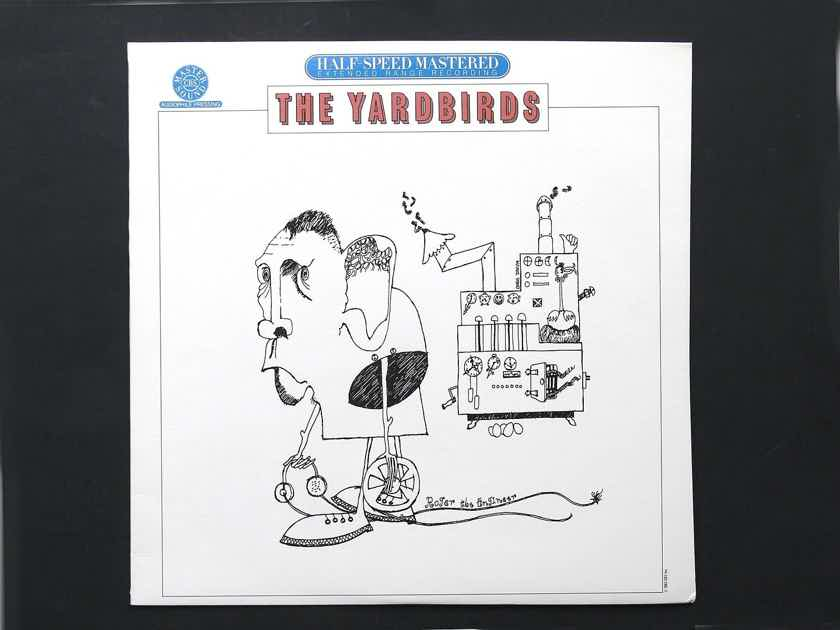 The Yardbirds - Roger the Engineer - CBS Mastersound Half Speed Sealed - from 1983 - EXTREMELY RARE SEALED!