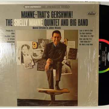 SHELLEY MANNE QUINTET AND BIG BAND MANNE-THAT'S GERSHWIN!