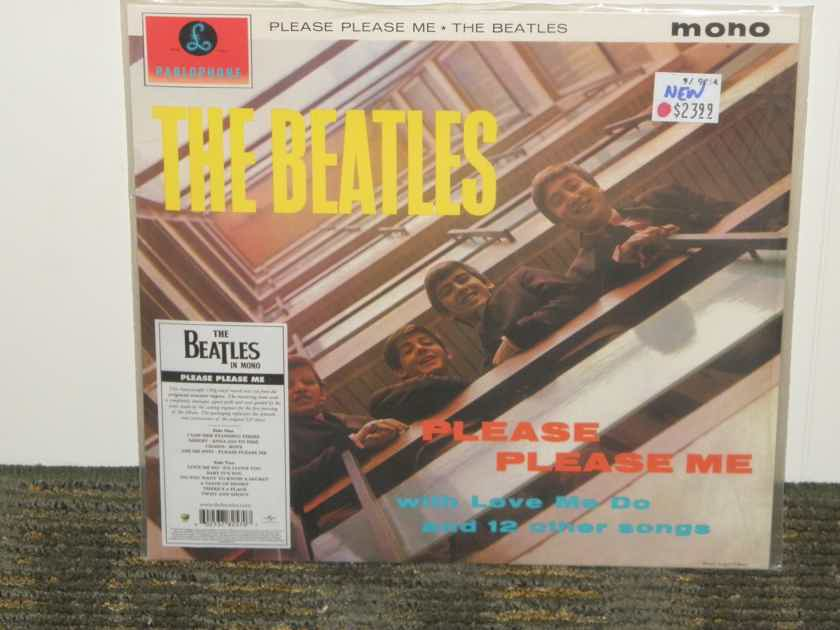 "The Beatles   ""Please,Please Me"" - Parlophone PMC 1202 Flipback cover/ Black/Gold labels pressing Current issue"
