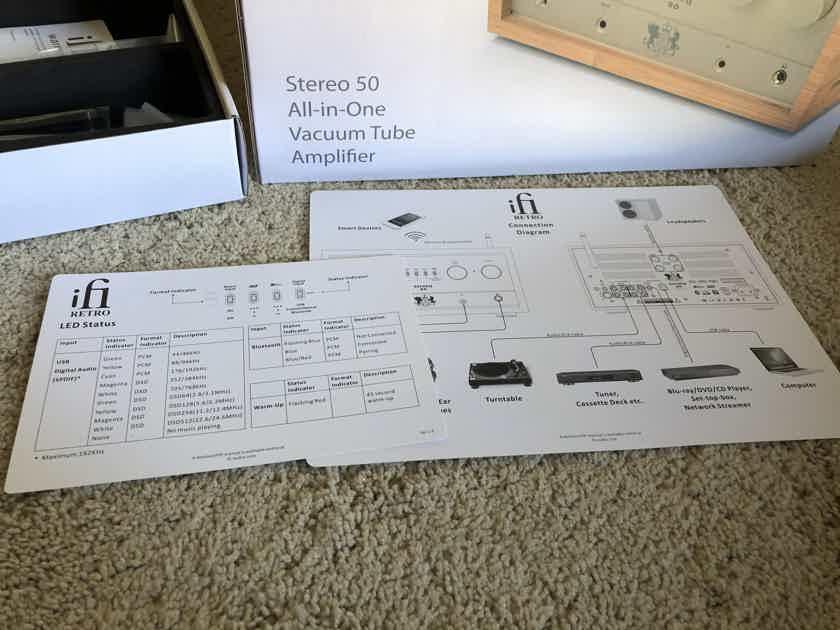 iFi Audio Retro Stereo 50 Integrated Amplifier