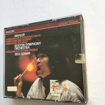 Mahler Seiji Ozawa Symphony of a thousand no8 Philips