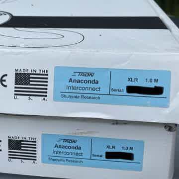 Anaconda Zitron XLR 1m pair