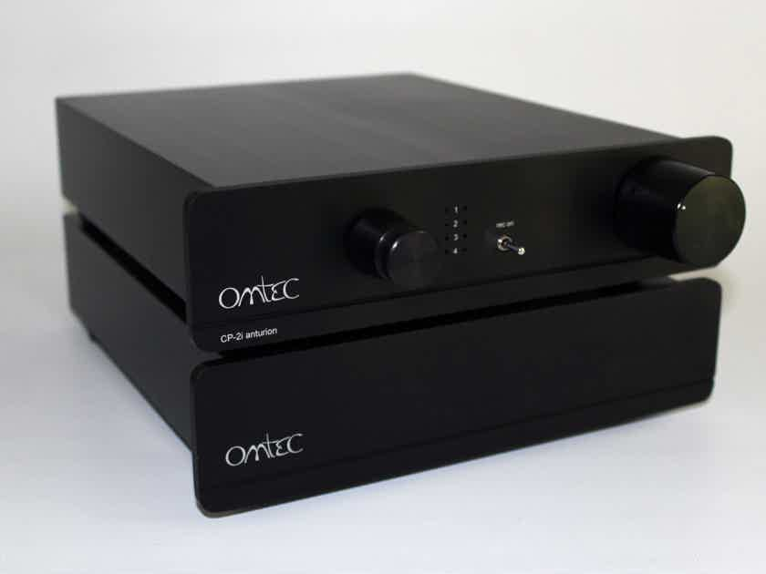 Omtec Audio Anturion CP-2i SS preamp (two chassis and separate AC supply, 240)