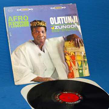 "OLATUNJI  - ""Zungo / Afro Percussion"" -  CBS '6 Eye' 19..."