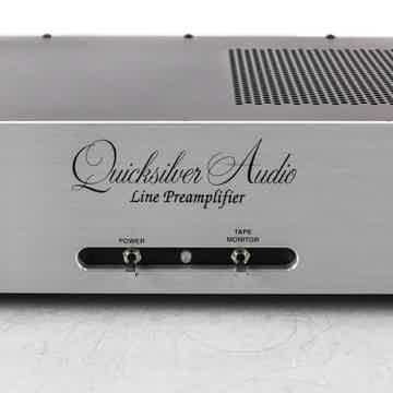 Line Stage Stereo Tube Preamplifier