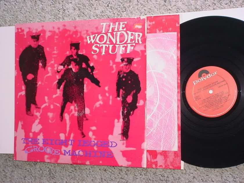 The Wonder Stuff  lp record the eight legged groove machine COVER WEAR